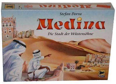 Medina - die Erstausgabe 2001 von Hans im Glück