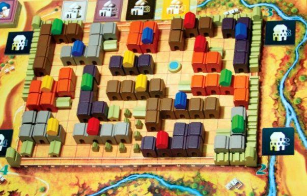 Medina Spielplan