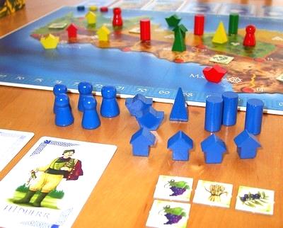 Kreta boardgame Brettspiel Stefan Dorra